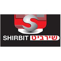 לוגו של שירביט שעשו מוצרי פרסום ממותגים לעובדים שלהם