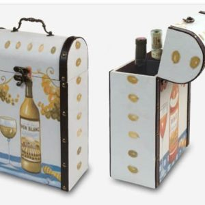 מארז יין עץ