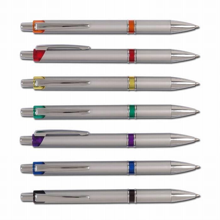 עט כדורי גוף כסוף