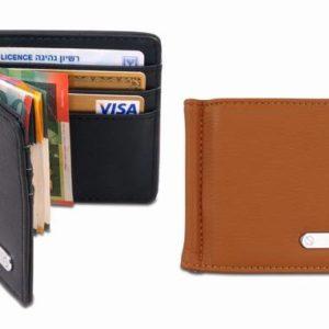 ארנק שטרות וכרטיסי אשראי