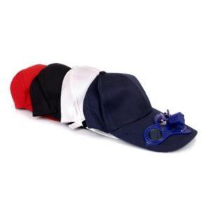 כובע מצחייה מאוורר