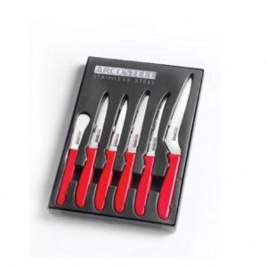 סט שישה סכיני מטבח