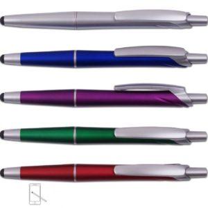 עט לחצן עם כרית