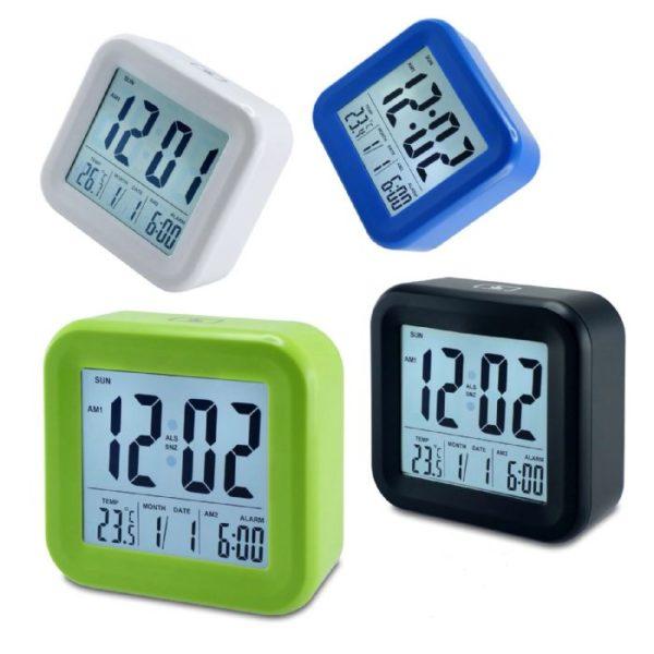 שעון דיגיטלי מואר
