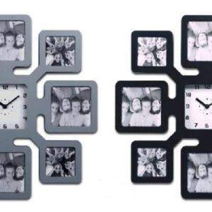 שעון קיר פרח