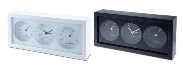 שעון שולחני משולב