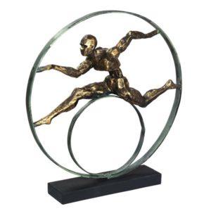 פסל אומנותי המירוץ לניצחון