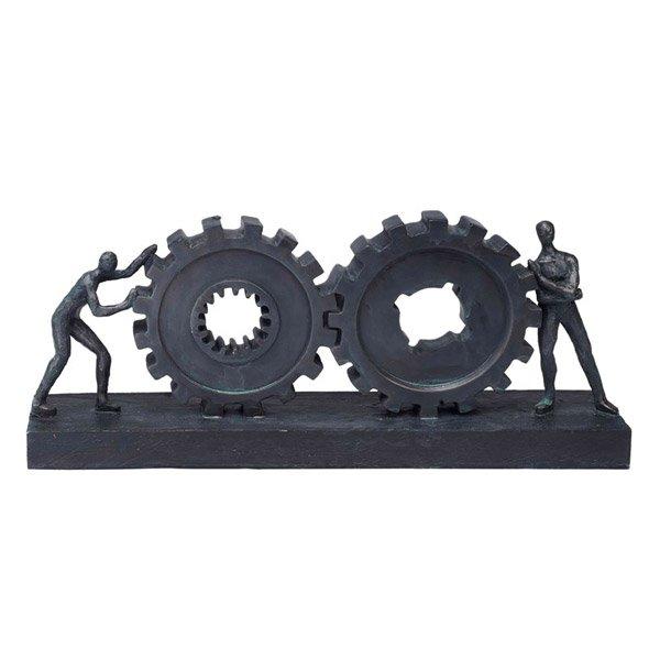 פסל אומנותי שיתוף פעולה