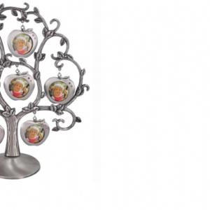 עץ משפחה מסגרות בעיצוב תפוח