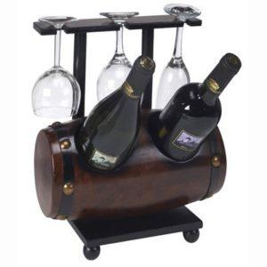 חבית בר 2 בקבוקים