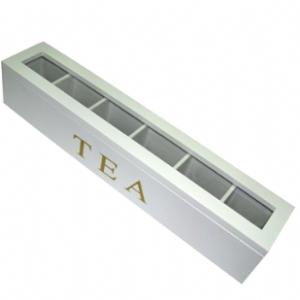 קופסת תה 6 תאים