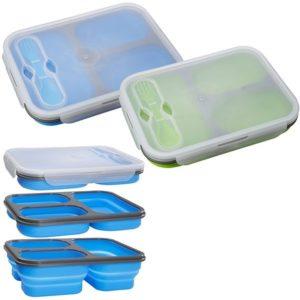 קופסת אוכל 3 תאים