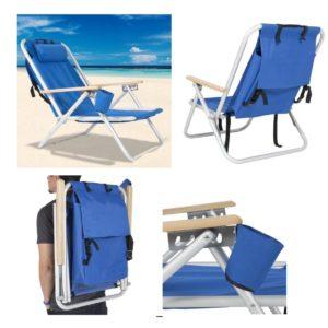 כיסא חוף וגן