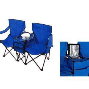 זוג כיסאות צידנית