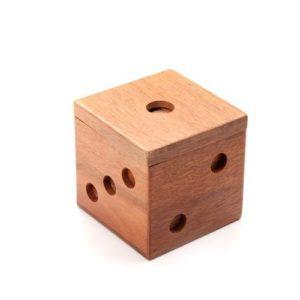 משחק מנהלים קוביית עץ