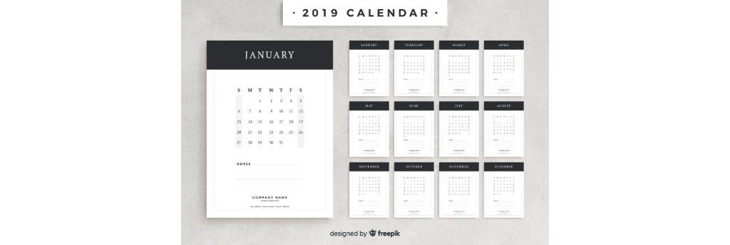 תמונה של יומן (לוח שנה) ממותג ומעוצב באופן אישי