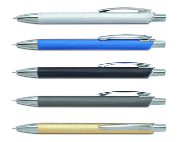מוצרי פרסום עטים בצבע כחול זהב ושחור