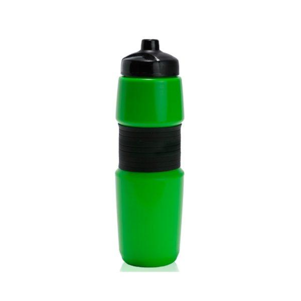 מוצרי פרסום של בקבוק שתייה בצבע ירוק