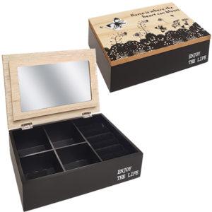 קופסת תכשיטים מעץ