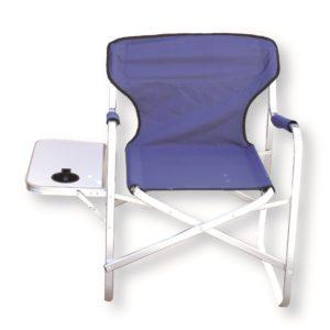 כיסא אלומיניום מגש