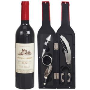 ערכת פותחנים ליין בעיצוב בקבוק