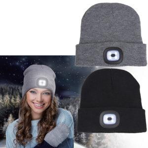 כובע גרב תאורת לד