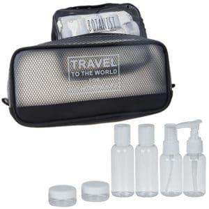 ערכת בקבוקי אחסון לנסיעות
