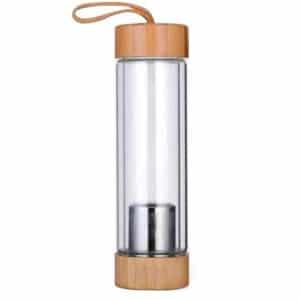 בקבוק זכוכית/במבוק לחליטה תה